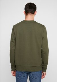 Calvin Klein - LOGO - Felpa - green - 2