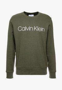 Calvin Klein - LOGO - Felpa - green - 3