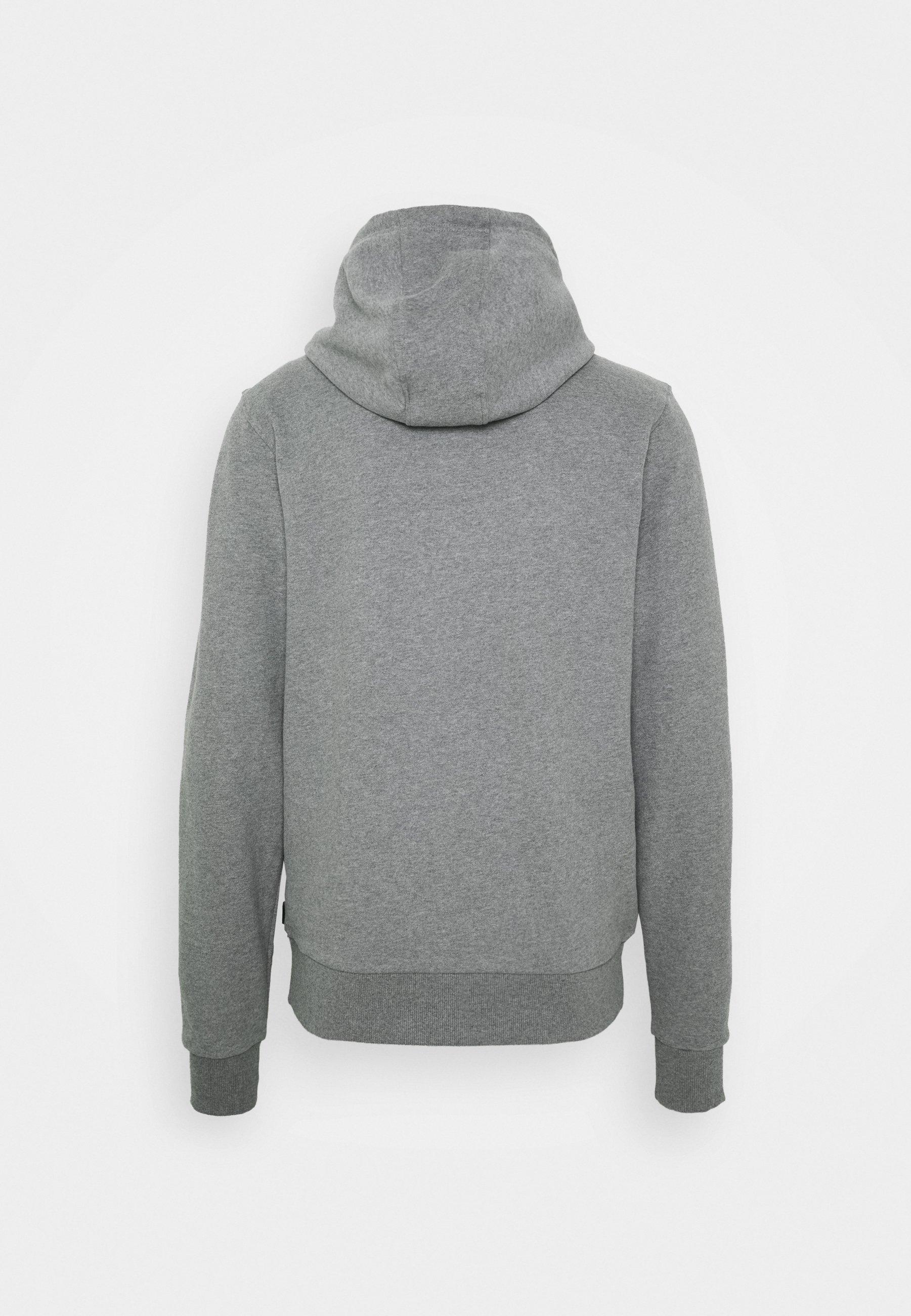Calvin Klein Veste En Sweat Zippée - Grey Heather 5y0NbIz