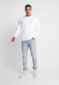 Calvin Klein - LOGO EMBROIDERY - Sweatshirt - white - 1