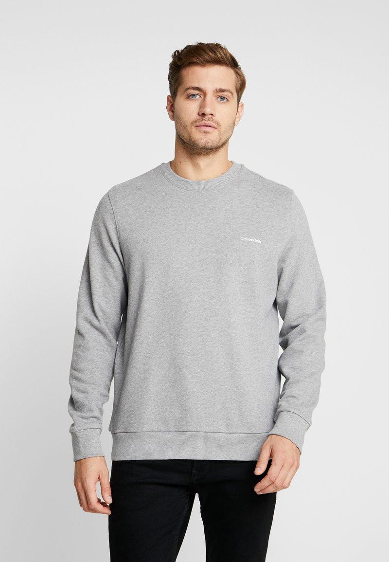 Calvin Klein - CHEST EMBROIDERY - Sweatshirt - grey