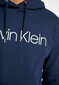 Calvin Klein - LOGO HOODIE - Hoodie - navy - 4