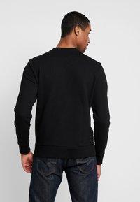 Calvin Klein - ATHLEISURE LOGO  - Sweatshirt - black - 2