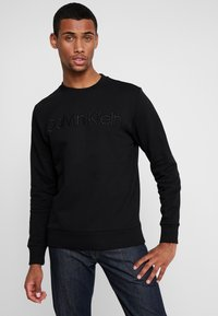 Calvin Klein - ATHLEISURE LOGO  - Sweatshirt - black - 0