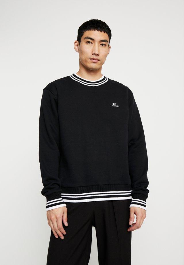 VINTAGE BADGE RINGER - Sweater - black