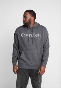 Calvin Klein - LOGO HOODIE - Hoodie - grey - 0