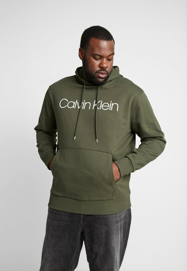 LOGO HOODIE - Jersey con capucha - green