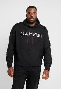 Calvin Klein - LOGO HOODIE - Hoodie - black - 0
