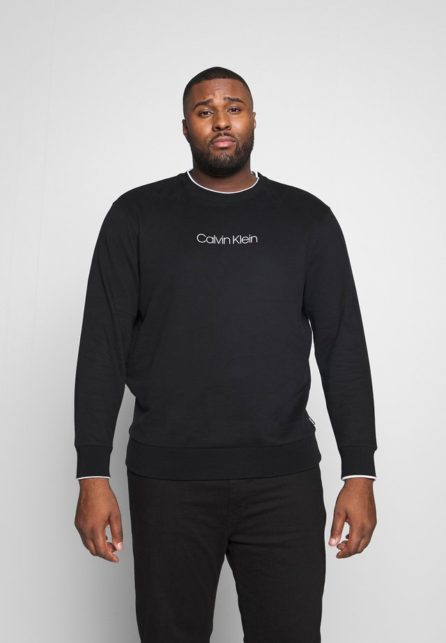 BRUSH LOGO  - Sweater - black