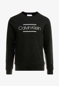 Calvin Klein - MIX MEDIA LOGO  - Sweatshirt - black - 3