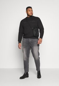 Calvin Klein - TONE LOGO - Sweatshirt - black - 1