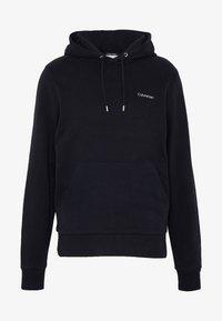 Calvin Klein - LOGO EMBROIDERY HOODIE - Sweat à capuche - black - 3