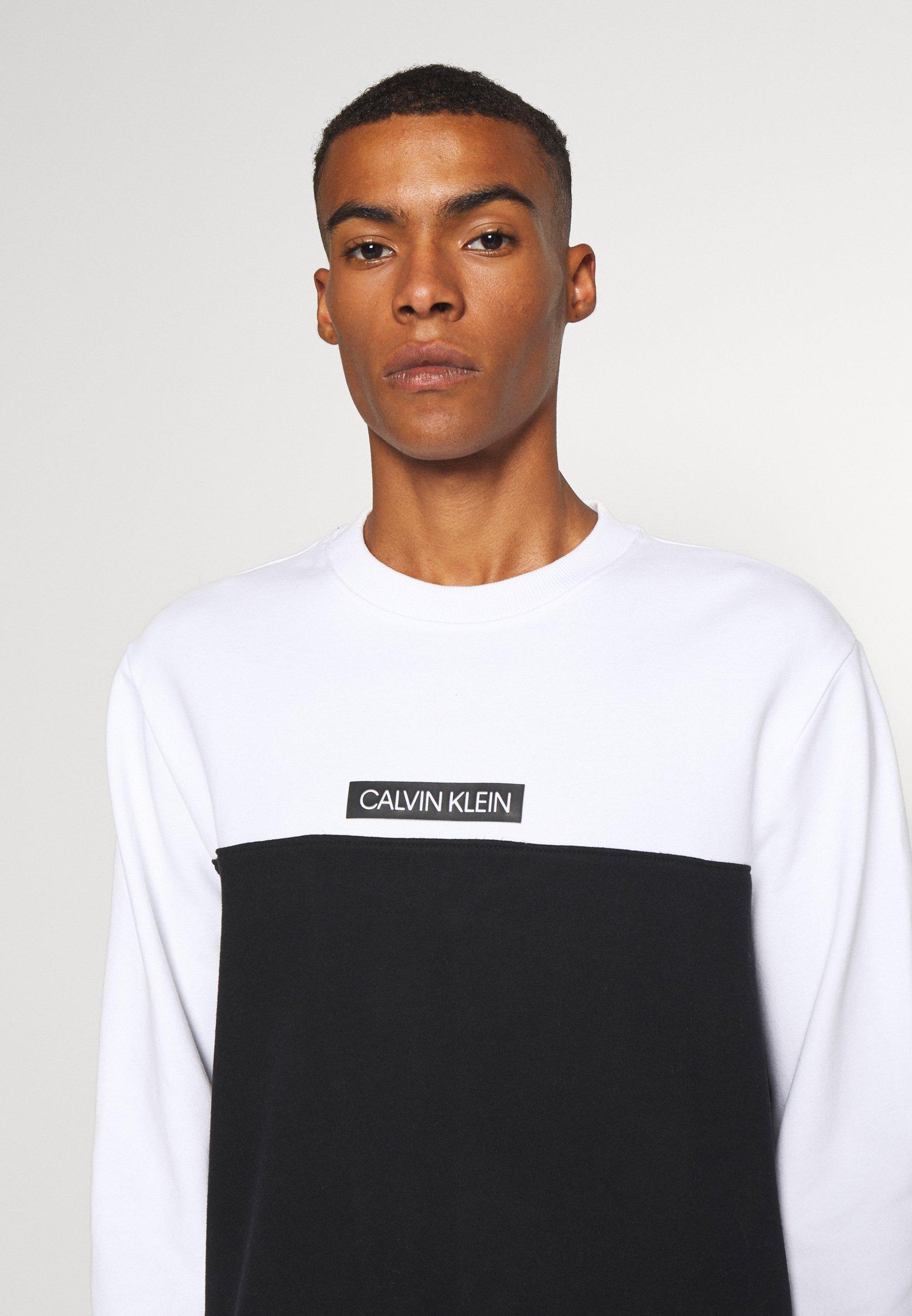 COLOR BLOCK Sweater white
