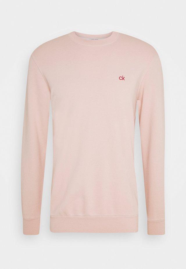 DYE CHESTLOGO - Sweatshirt - pink