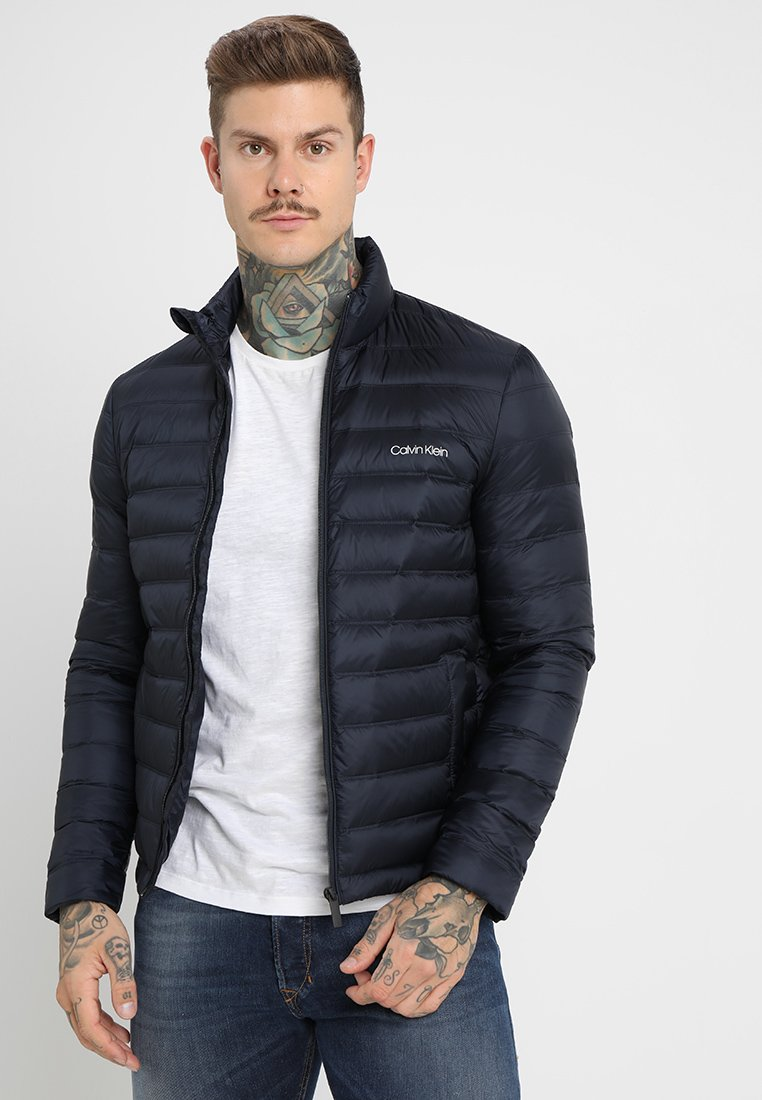 Calvin Klein - LIGHT PACKABLE JACKET - Gewatteerde jas - sky captain
