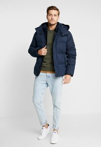 Calvin Klein - MID LENGTH - Giacca invernale - blue - 1