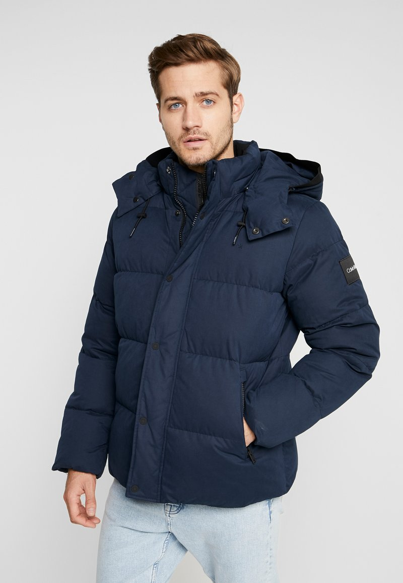 Calvin Klein - MID LENGTH - Giacca invernale - blue
