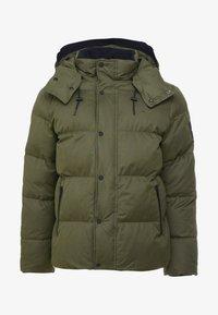 Calvin Klein - MID LENGTH - Zimní bunda - green - 5