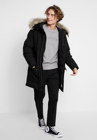 Calvin Klein - LONG LENGTH PREMIUM  - Talvitakki - black - 1