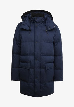 LONG LENGTH - Winter coat - blue