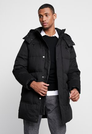 LONG LENGTH - Winter coat - black