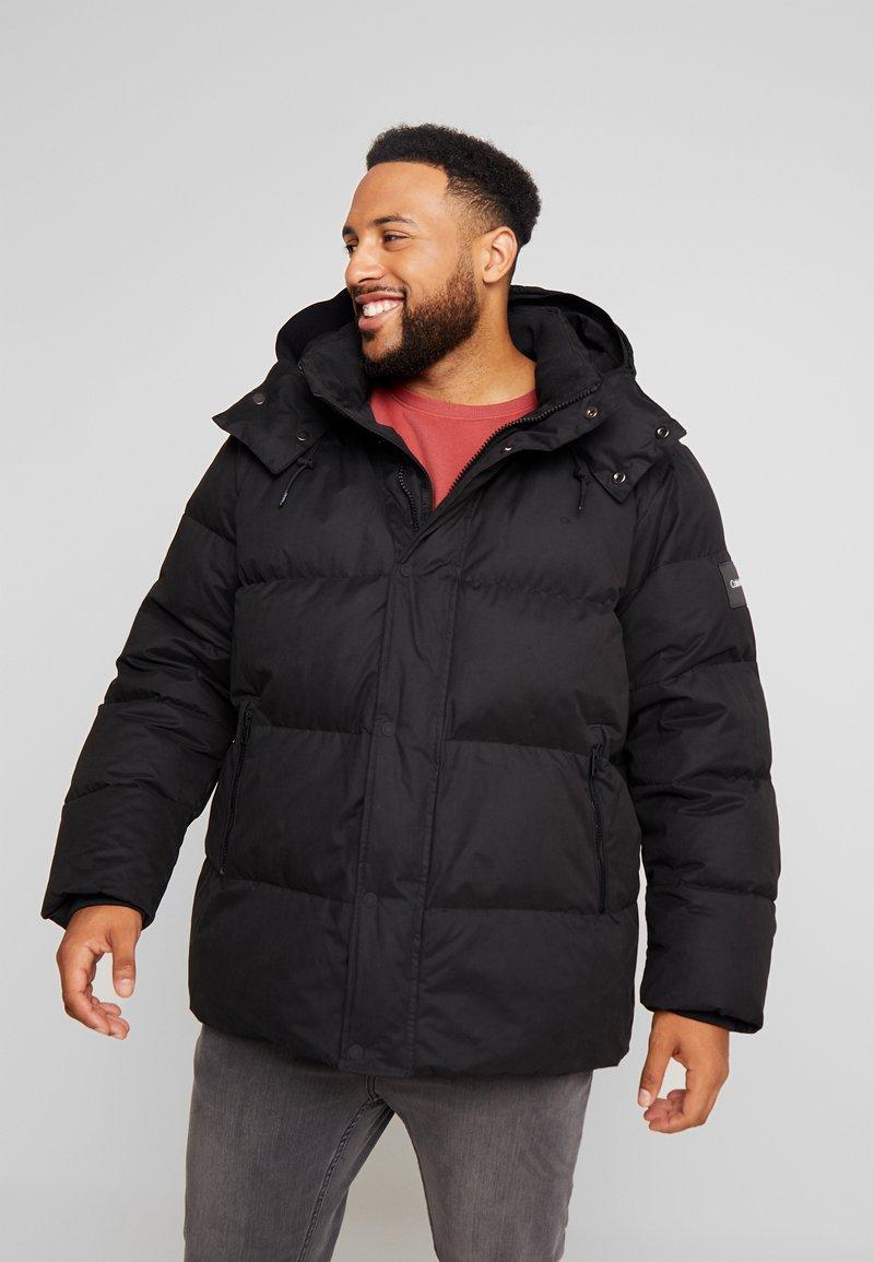 Calvin Klein - MID LENGTH - Winter jacket - black