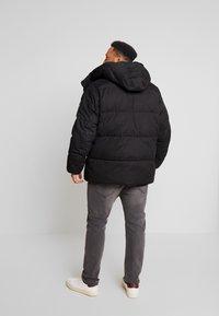 Calvin Klein - MID LENGTH - Winterjacke - black - 2