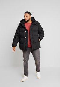 Calvin Klein - MID LENGTH - Winterjacke - black - 1