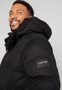 Calvin Klein - MID LENGTH - Winterjacke - black - 4