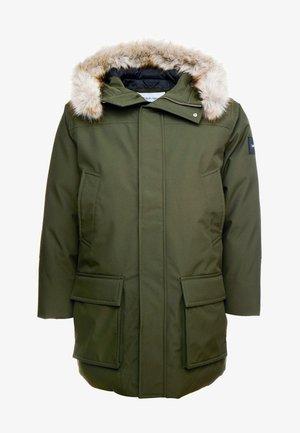 LONG PREMIUM - Winter coat - green