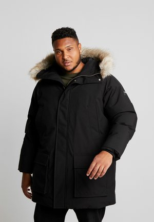 LONG PREMIUM - Winter coat - black
