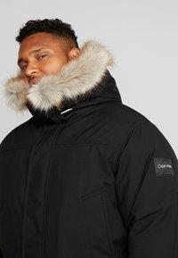 Calvin Klein - LONG PREMIUM - Cappotto invernale - black - 5