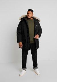 Calvin Klein - LONG PREMIUM - Cappotto invernale - black - 1