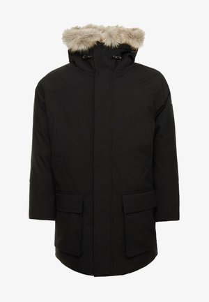 LONG PREMIUM - Winter coat - black