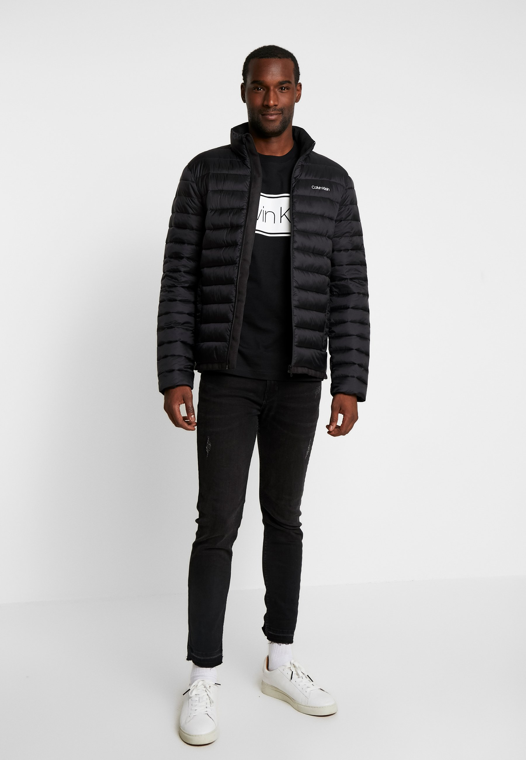 Calvin Klein Light Liner - Allvädersjacka Black