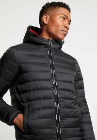 Calvin Klein - HOODED LINER - Chaqueta de invierno - black - 5