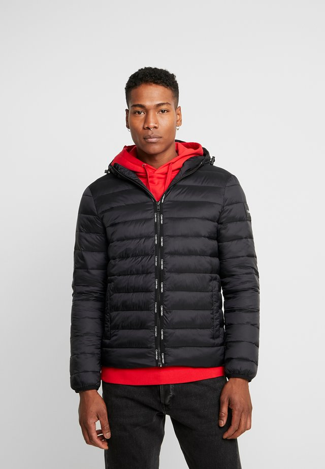 HOODED LINER - Winter jacket - black