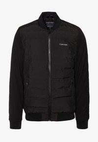 Calvin Klein - THERMAL QUILTED BLOUSON - Bomberjacks - black - 3