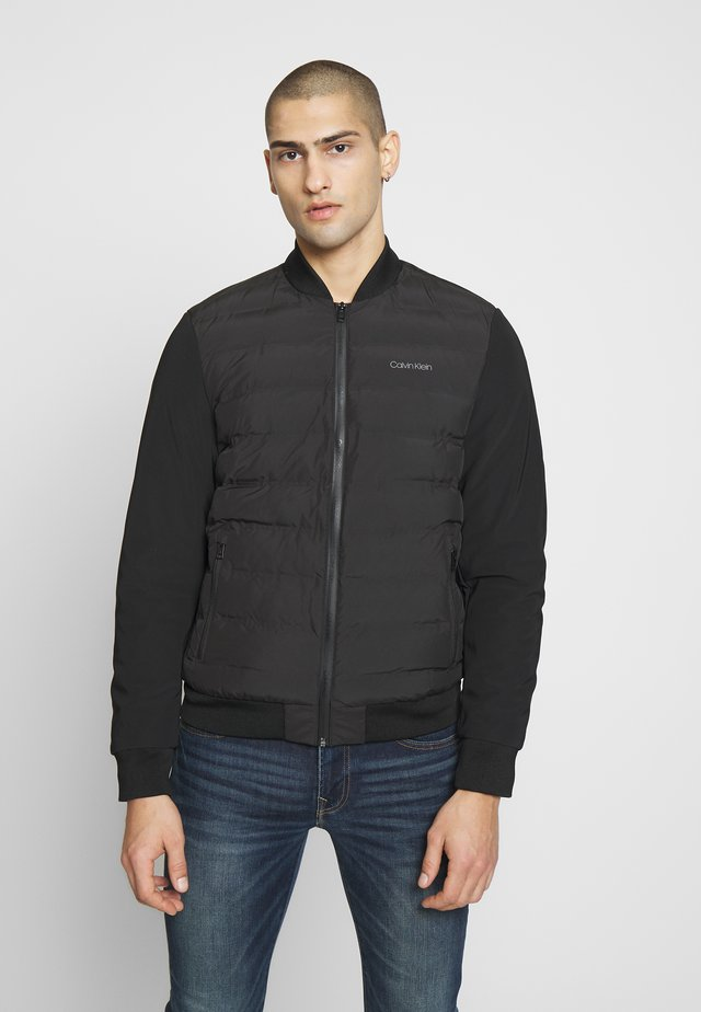 THERMAL QUILTED BLOUSON - Bomberjacka - black