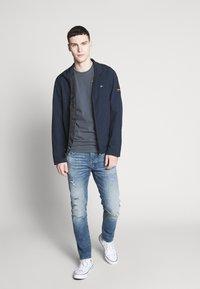 Calvin Klein - CRINKLE BLOUSON JACKET - Summer jacket - blue - 1
