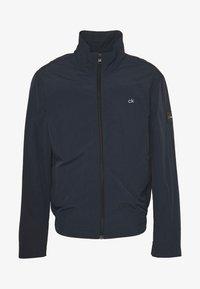 Calvin Klein - CRINKLE BLOUSON JACKET - Summer jacket - blue - 4