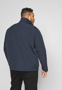 Calvin Klein - CRINKLE JACKET - Summer jacket - blue - 2