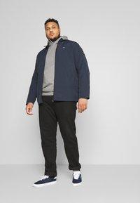 Calvin Klein - CRINKLE JACKET - Summer jacket - blue - 1