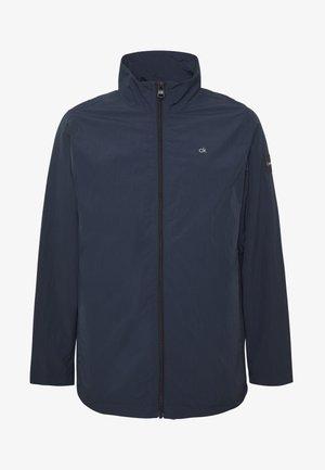 CRINKLE JACKET - Summer jacket - blue