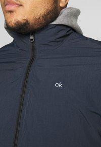 Calvin Klein - CRINKLE JACKET - Summer jacket - blue - 5