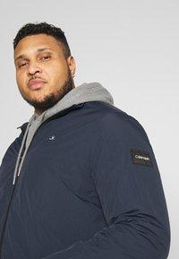 Calvin Klein - CRINKLE JACKET - Summer jacket - blue - 3