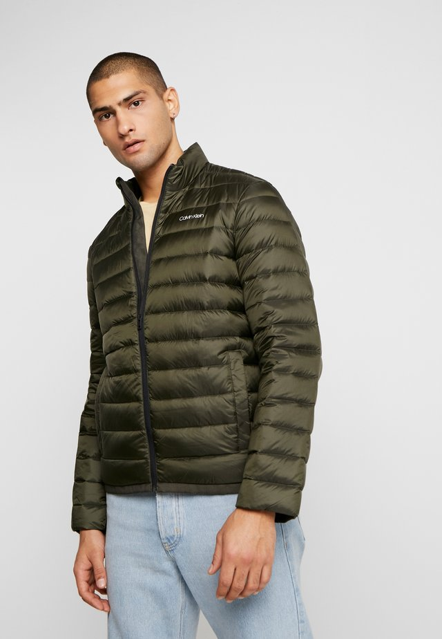 LIGHT LINER - Down jacket - dark olive