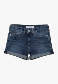 Calvin Klein Jeans - SLIM SHORT  - Denim shorts - denim - 0