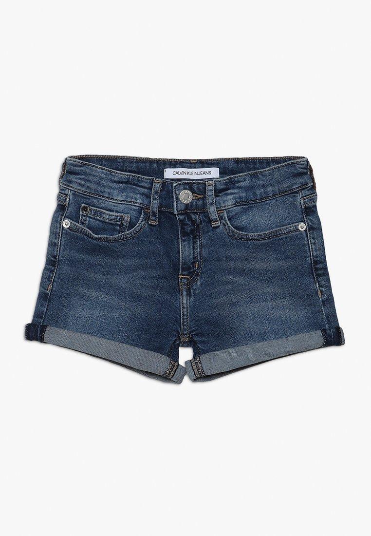 Calvin Klein Jeans - SLIM SHORT  - Denim shorts - denim