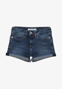 Calvin Klein Jeans - SLIM SHORT  - Denim shorts - denim - 3